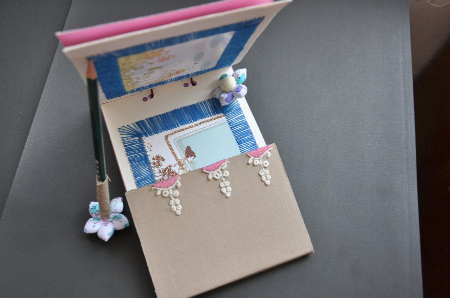 手工拼布创意书籍设计图片