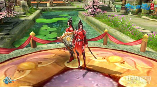 图1:红衣倾天下,女刀客登场