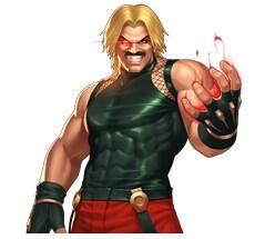 现在来看看游戏中的终极BOSS卢卡尔吧,格斗家卢卡尔在拳皇98中充当一个最后BOSS的角色。那么在手游中肯定也是极其厉害的,现在就和小编一起里看看吧。卢卡尔人物盘点:技能一:猛烈攻击敌军,有20%概率