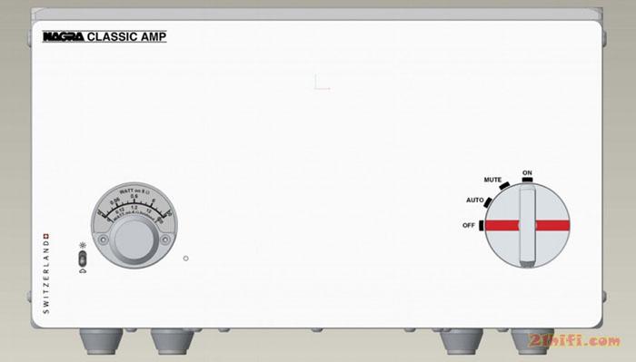 纯白机身 Nagra全新功放Classic AMP