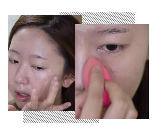 痘痘肌如何画出完美底妆 韩国欧尼手把手教你