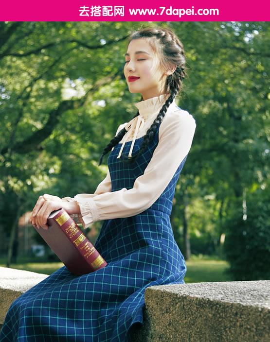 秋天+根据身材选连衣裙!穿对了才能变身秋季女神(1)