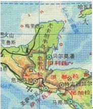 玛雅文明地点分布图
