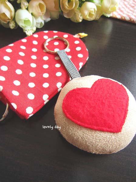 RED HEART红火火的布艺小配件