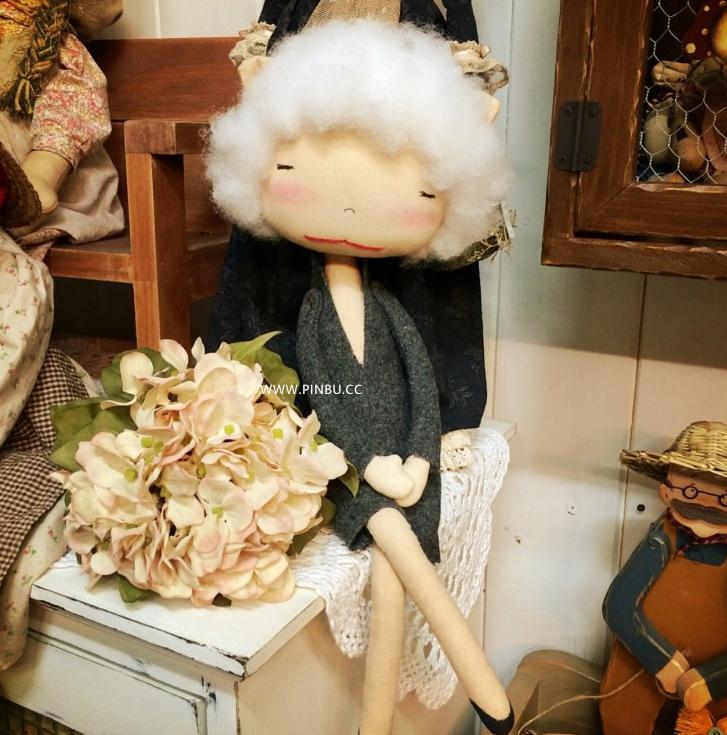 手工布娃娃。拼布小伙伴的怪趣味