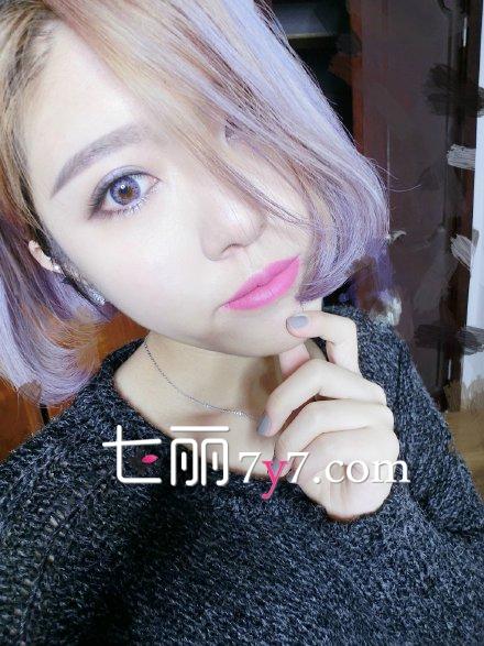 日系软妹子漂亮大眼妆 美妆画法步骤
