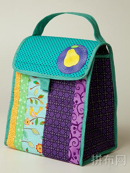 彩虹色系手提包