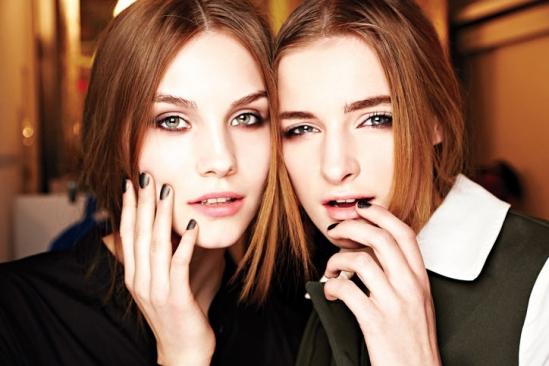 深度解析2013秋冬妆容与发型的流行趋势