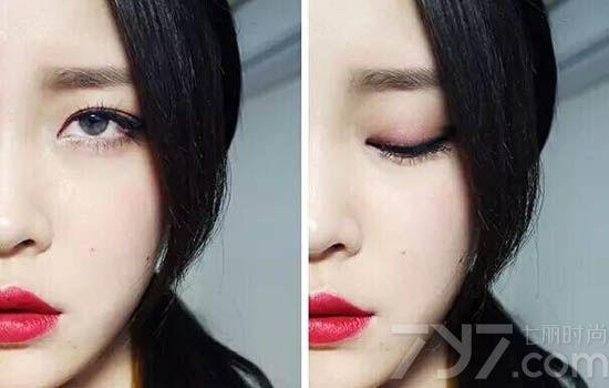 眼妆的画法步骤图片韩国 大热的韩式眼妆get起来