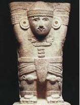 玛雅文明时期雕刻文物