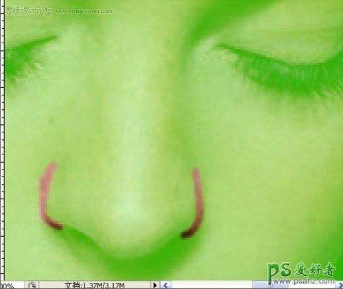 Photoshop超细磨皮实例教程:简单实用的保留毛孔磨皮法