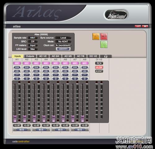Prism Sound Atlas音频接口开箱评测