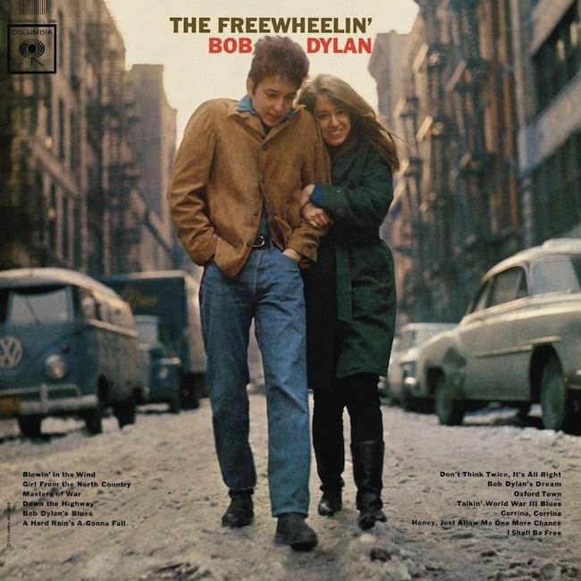 The Freewheelin' Bob Dylan唱片封面 来自网络
