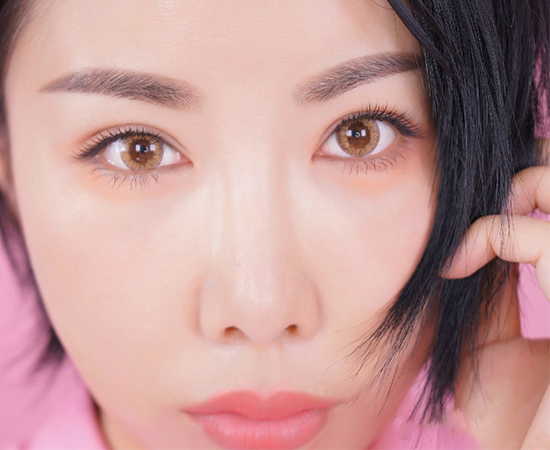 弯眉毛的画法 女人味大爆发的勾月眉教程