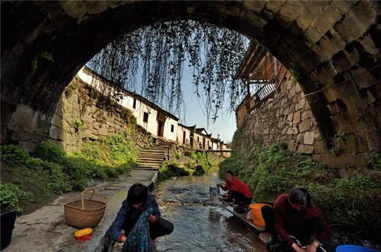 皖南千年古村落:查济古村