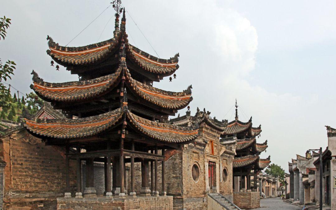 地跨豫陕鄂的古镇荆紫关镇
