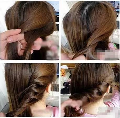 简单易学的编发发型 手再笨的女人都能学会